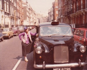 throwing this in of me in London in the mid-70's