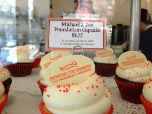 Buy this cupcake to help find a cure for Parkinson's