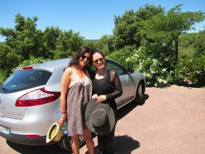 me and Janet in St-Tropez