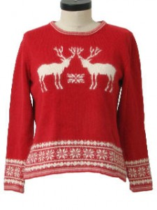Vintage ski sweater similar to the one I had