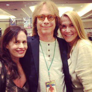 Me, Bill Mumy, Tracy Brooks Swope