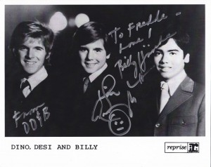 Signed Dino, Desi and Billy pic!