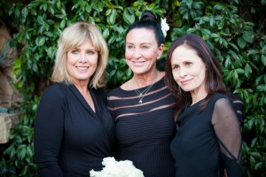Kimberly on left, Kimme and me at Kimme's recent wedding