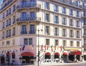 Frontenac, our hotel in Paris