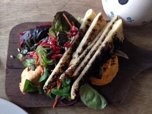 Mezze dish at Ard Bia