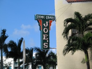 One night I ate at Joes Stone Crab = life altering
